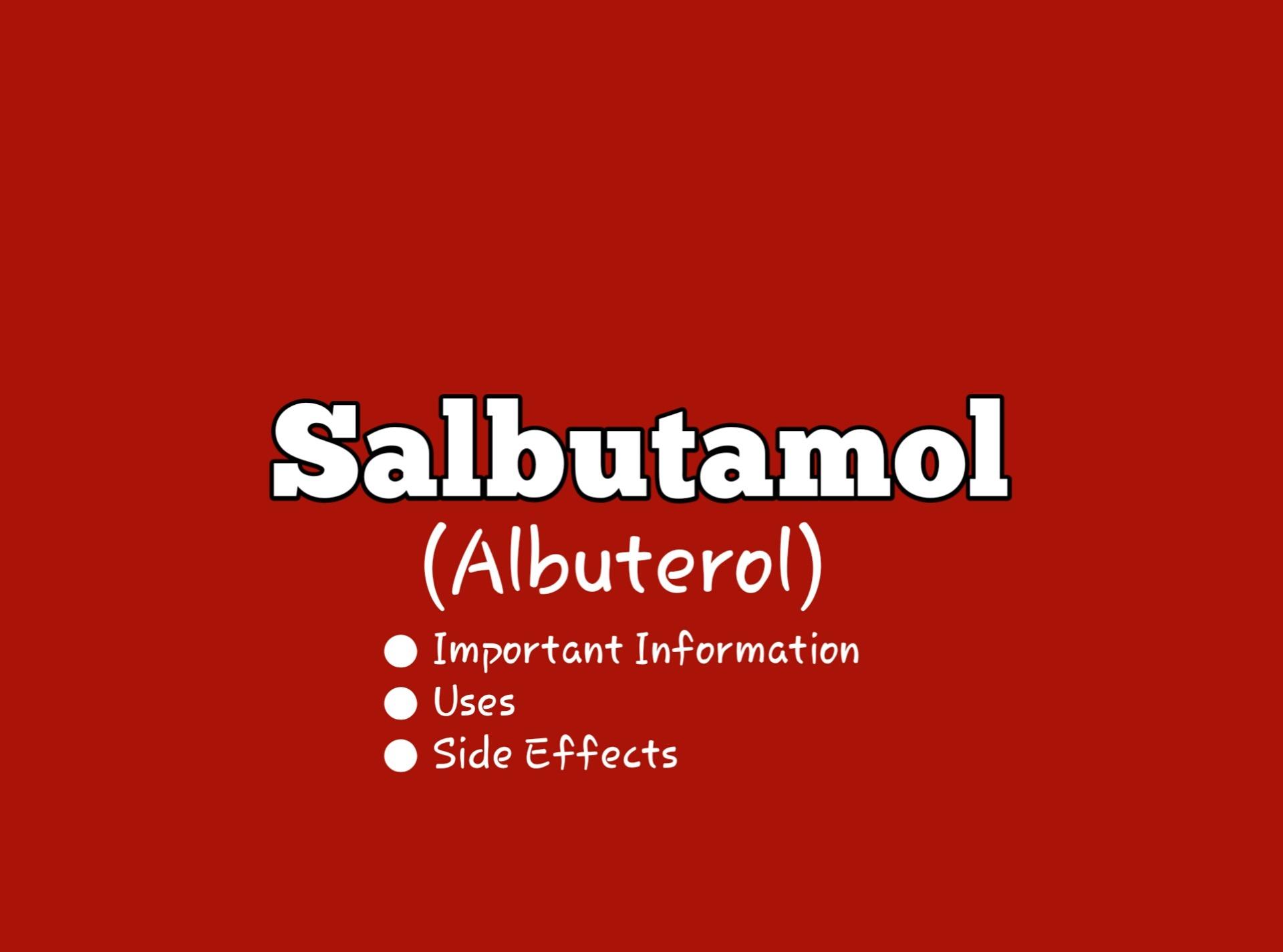 Salbutamol (Ventolin)