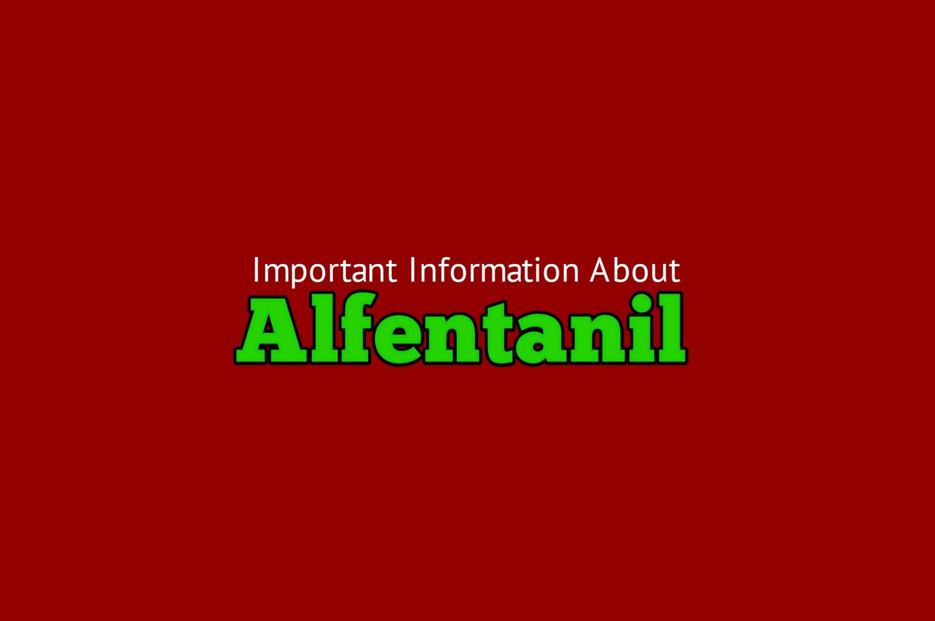 Alfentanil