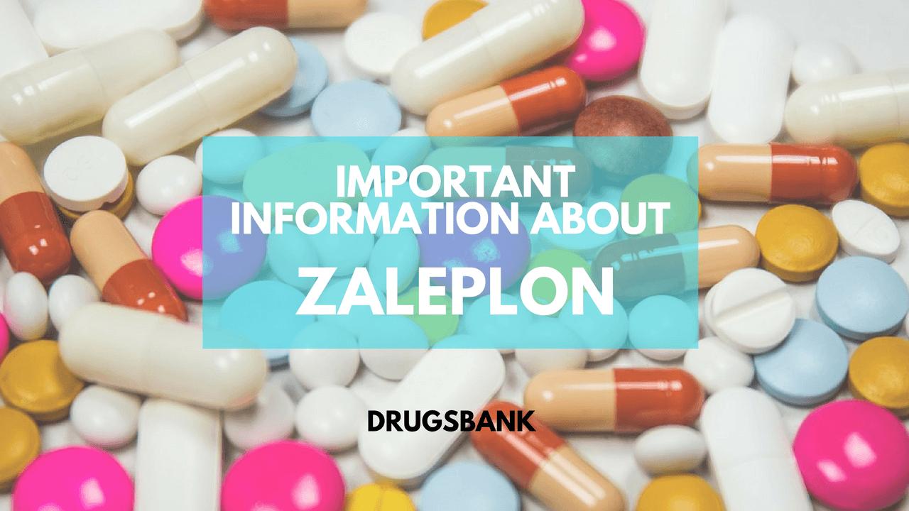 Important Information About Zaleplon