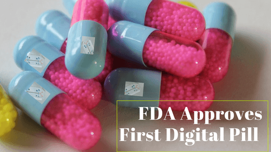FDA Approves First Digital Pill That Can Tracks Medicine when swallowed