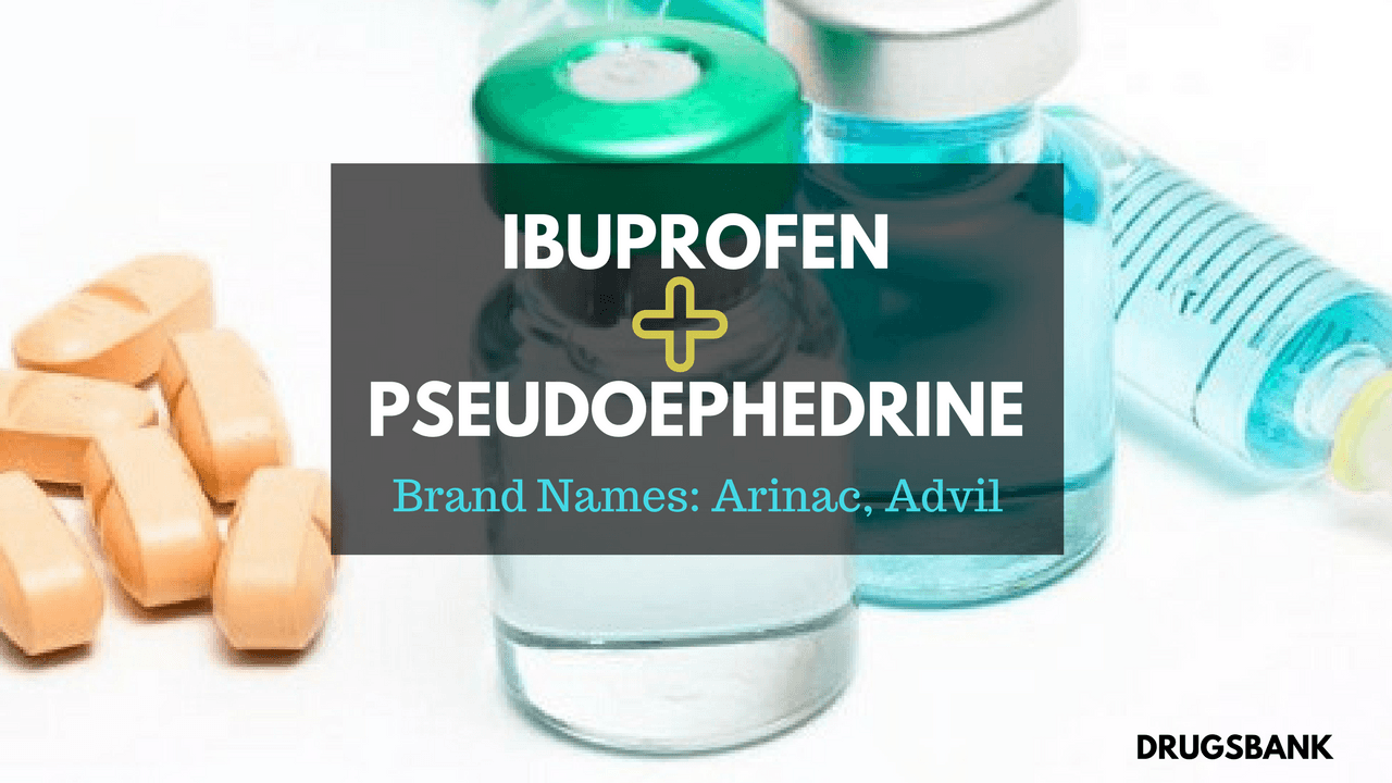 Arinac Forte (Ibuprofen & Pseudoephedrine)