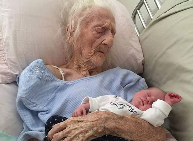 100 Year Old Woman Gives Birth To A Baby Boy