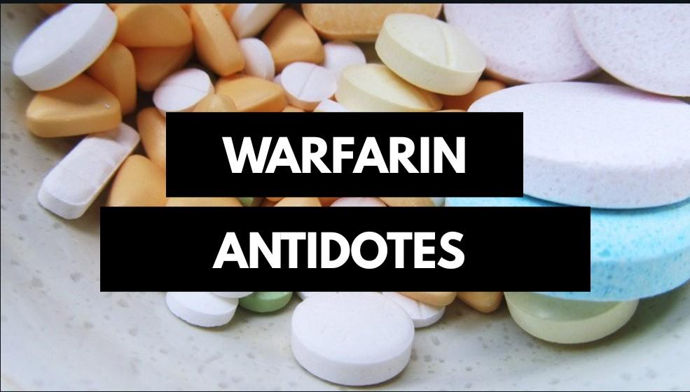 Antidotes for warfarin