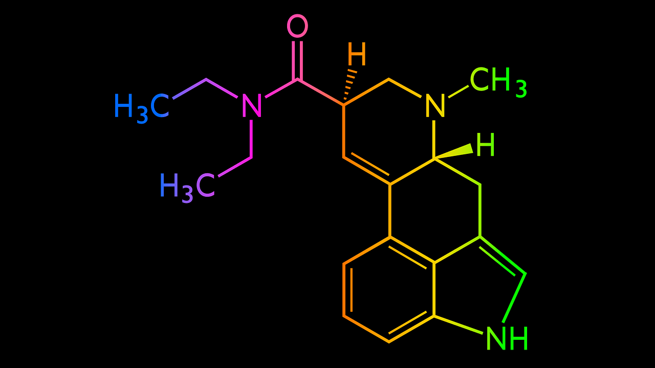 LSD Chemical structure