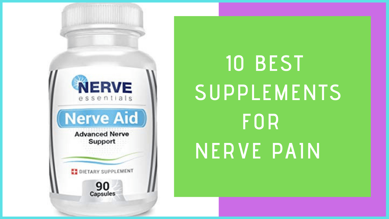 best supplements for nerve pain